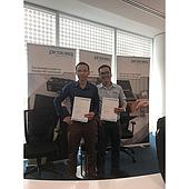 "EMIN completed training module ""Proceq Metal Instrument Standardized Service"" in Singapoore"
