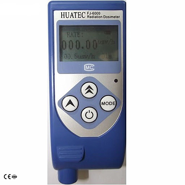 Huatec FJ-6000 Radiometer dosimeter Industrial X-Ray Flaw Detector gamma NDT radiation detection
