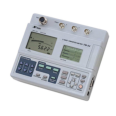 Rion VM-54 3-Axis Vibration Meter