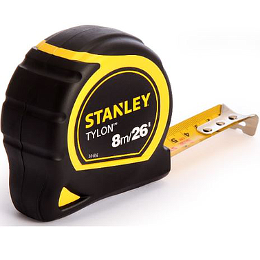 Stanley 30-656 - 8M / 26Ft Bi-material Tape Measure with 25mm Blade