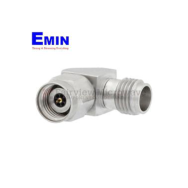 Fairview Microwave SM3841 RA 1.85mm Female to 2.4mm Male Adapter 50 GHz