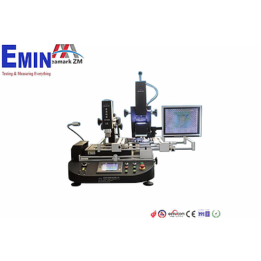 Seamark ZM-R6808 most economical BGA rework station with optical alignment