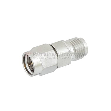 Fairview Microwave FMAD1028 2.92mm Male to 2.4mm Female Adapter (40 Ghz)