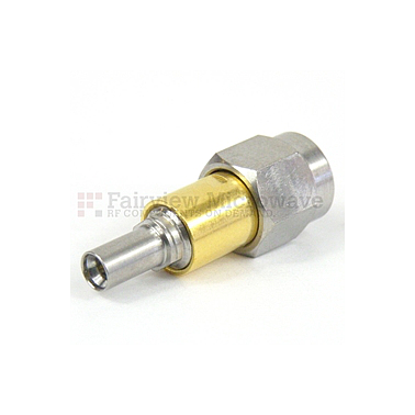 Fairview Microwave SM8938 mm Male to Mini SMP Male Full Detent Adapter (50 Ghz)