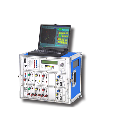 Francelog PTR233 Secondary injection test case (50A, 300V)