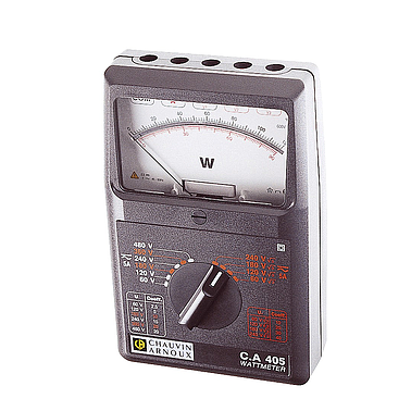 Chauvin Arnoux  C.A 405 (P01170305) Single and three-phase AC/DC wattmeter