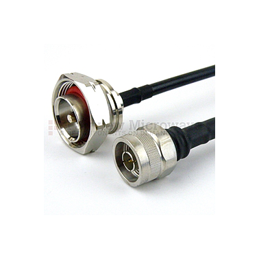 Fairview FMC0115240 N Male to 7/16 DIN Male Cable LMR-240 Coax