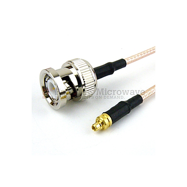Fairview FMC0809315 BNC Male to MMCX Plug Cable RG-316 Coax