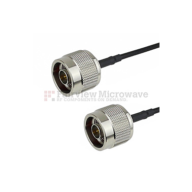 Fairview FMC0101100 N Male to N Male Cable LMR-100 Coax
