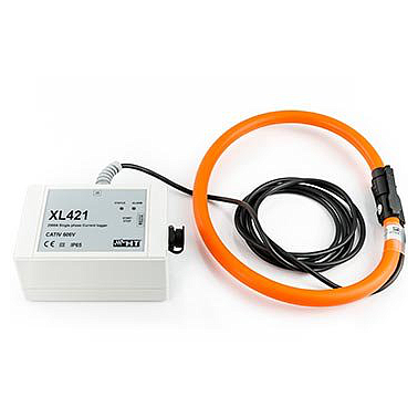 HT Instrument XL421 TRMS single-phase current Data Logger (2~2500A,±(2.0%rdg + 2dgt))