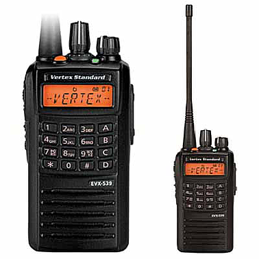 Vertex Standard EVX- 539IS UHF Digital Portable Radio  (403-470Mhz, 32CH, 5W)