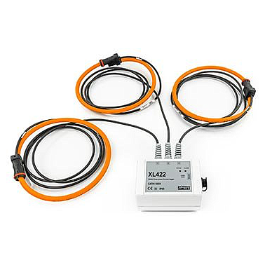 HT Instrument XL422 TRMS three phase current Data Logger (2~2500A,±(2.0%rdg + 2dgt))