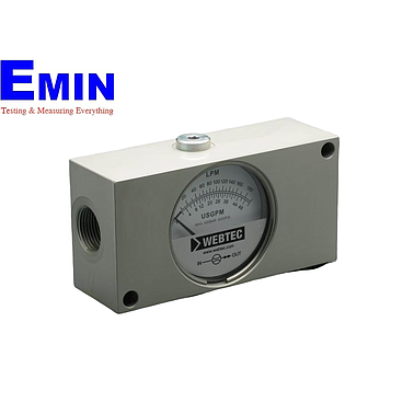 Webtec FI750-30ANO Hydraulic In-line Flow Indicator (2-30 lpm; 6000 psi)